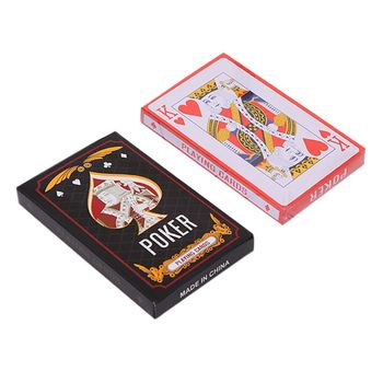 1 Deck Red K Big Playing Cards Magic Props Poker Card Family Party Board Game tara mohr playing big