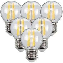 Tianfan 6 pack светодиодные лампы свечи лампа g45 маленький