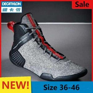 Zapatos de lucha Unisex, botas de boxeo para hombre y mujer, zapatillas deportivas profesionales de lucha libre, zapatos de entrenamiento de lucha para hombres y niños