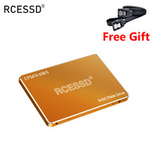 RCE SSD metalowe SSD 1 TB 120gb 240 gbSATA 3 dysk twardy SSD napęd dysku laptopa dysk półprzewodnikowy 256 512 GB dla pulpit PC