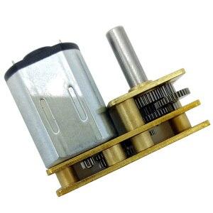 N20 микро минигенератор постоянного электрического тока мотор 3V 6V 12V Низкий RPM 15 до 500RPM в DC Регулируемая скорость двигателя и обратный для зам...