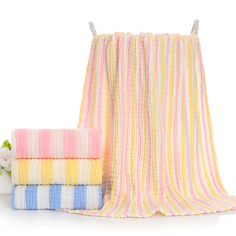 Class A Non-fluorescent Six-layer Micro-wrinkle Gauze Baby Quilt