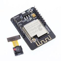 ESP32 CAM płytka rozwojowa kamery Wifi + moduł/Port szeregowy ESP32 do Wifi/część narzędzi internetowych Professional|Zestawy automatyki domowej|   -