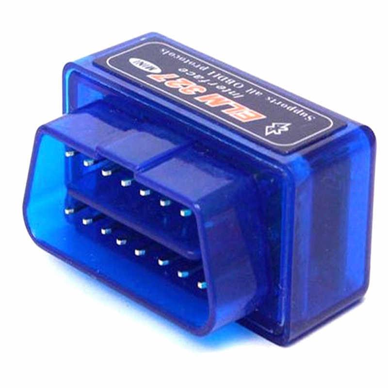 Mới ELM327 Bluetooth V2.1 Không Dây OBD2 Xe Lỗi Chẩn Đoán Đọc Mã Máy Quét Cho Benzine/Diesel Xe Tiết Kiệm Nhiên Liệu 15% cắm