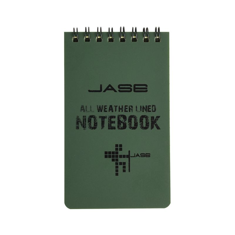 Tactical Notebook All Weather Waterproof Writing Paper Note Book Military Outdoors Camping