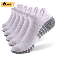 Winter Socks Sports-Ankle-Socks Athletic Fitness Breathable Outdoor Thick 6-Pairs Knit