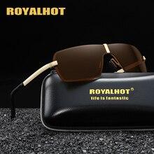 RoyalHot Polarized Rimless Sunglasses Men Women  Driving Sun