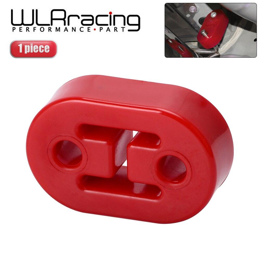WLR - Diameter 11mm 2 Holes Universal Car Polyurethane Exhaust Tail Pipe Mount Brackets Hanger Insulator WLR8952