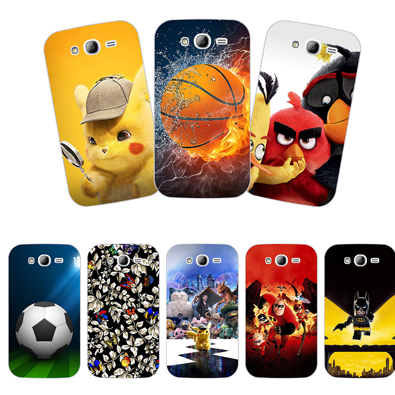 Cute Animal Printing Case for Samsung Galaxy Grand Duos i9082/Grand Neo Plus i9060 i9060i Cell Phone Cover TPU Cartoon image