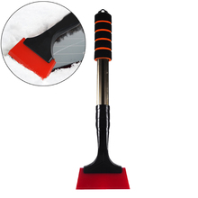 Ice Scraper Snow Clear Removal Tool Multifunctional Outdoor Car Window Snow Shovel Long Handle Deicer Cone Deicing Tool Cleaning