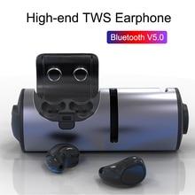 TWS Bluetooth V5.0 Wireless Earbuds Mini Earphone Waterproof In ear Noise Cancelling Headphones with Bluetooth Speaker Function недорого