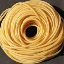 Натуральные латексные резиновые шланги 2 3 4 5 6 7 9 10 12 14 17 мм ID x OD высокоэластичные хирургические медицинские трубки рогатки катапульта