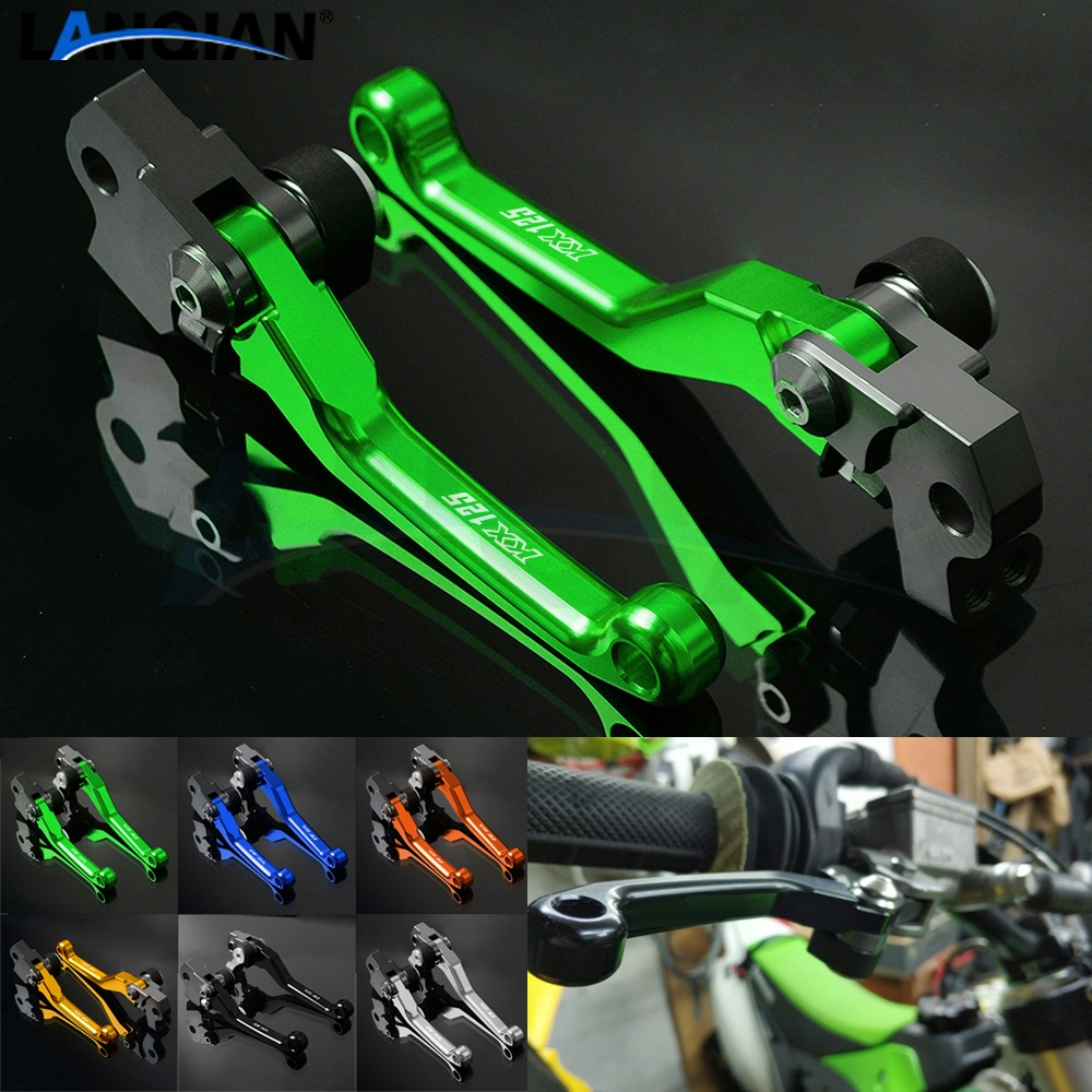 For Kawasaki KX125 Dirt Bike Pivot Lever Motorcycle Brake Clutch Lever <font><b>KX</b></font> <font><b>125</b></font> 2000 2001 2002 2003 2004 2005 2006 2007 2008 <font><b>Parts</b></font> image