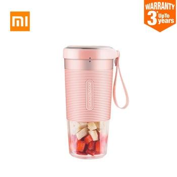 XIAOMI MIJIA Morphy 과일 컵 소형 휴대용 블렌더 전기 주방 과즙 기 믹서 푸드 프로세서 300ML 충전 40 초 빠른