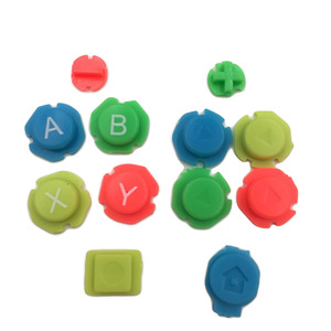 Image 5 - Colorful ABXY Directions Keys Buttons Joystick for Nintendo Switch NS NX Controller Joy con Left Right Controller