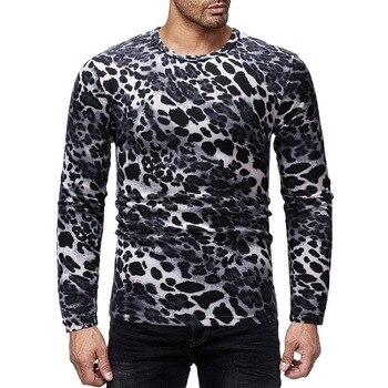 ZNG 2020 Men long sleeve t shirt fashion slim fit male tee shirt homme 2019 streetwear funny men tops hip hop t shirts