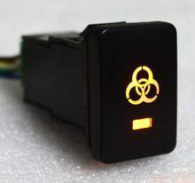 Interruptor push com fio conector para toyota-para landcruiser 200 series 2008-2013, rav4 2006-2011, hilux 2015-luzes zumbis onwards