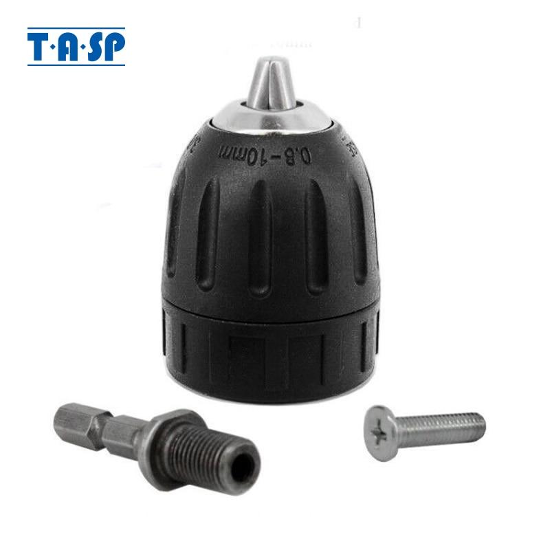 TASP 10mm Keyless Drill Chuck 3/8