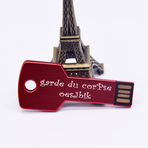 Image 2 - Prawdziwa pojemność metalowy klucz pamięć USB Pendrive 32GB 128MB 1GB 4GB 64GB Pendrive urządzenie pamięci masowej prezenty (ponad 10 sztuk logo za darmo)