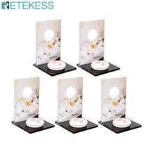 Retekess TD024 5pcs Mechanical Desktop Card For Call Button Restaurant Pager Customer Service Wireless Caller Waiter Call Button