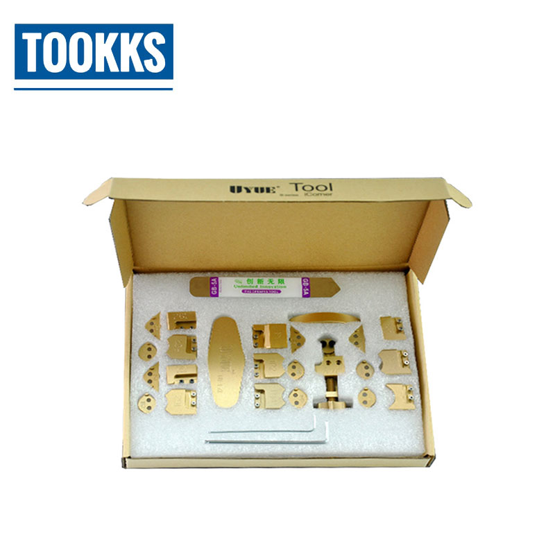 Upgraded 26 in <font><b>1</b></font> Gtool GB1100 iCorner Kit Corner Sidewall Bend Fix frame Repair Tool Set For <font><b>iPhone</b></font> <font><b>5</b></font> 5S 6P 6S 6SP iPad iPod image