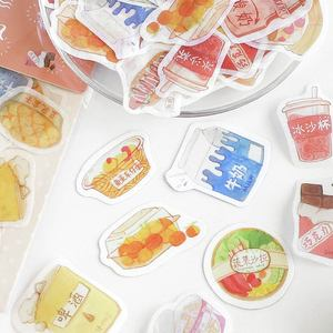 Image 2 - 20set/lot Kawaii Stationery Stickers Picture book life Decorative Mobile Stickers Scrapbooking DIY Japanese Craft Stickers