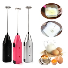 Electric-Mixer Stirrer Handle Cooking Drink-Coffee Kitchen Mini Whisk Battery-Operated