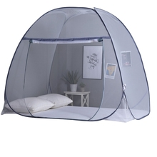 180cm Two-Part Mosquito Net, Foldable Mosquito Net, Polyester Repellent Bed Tent Net
