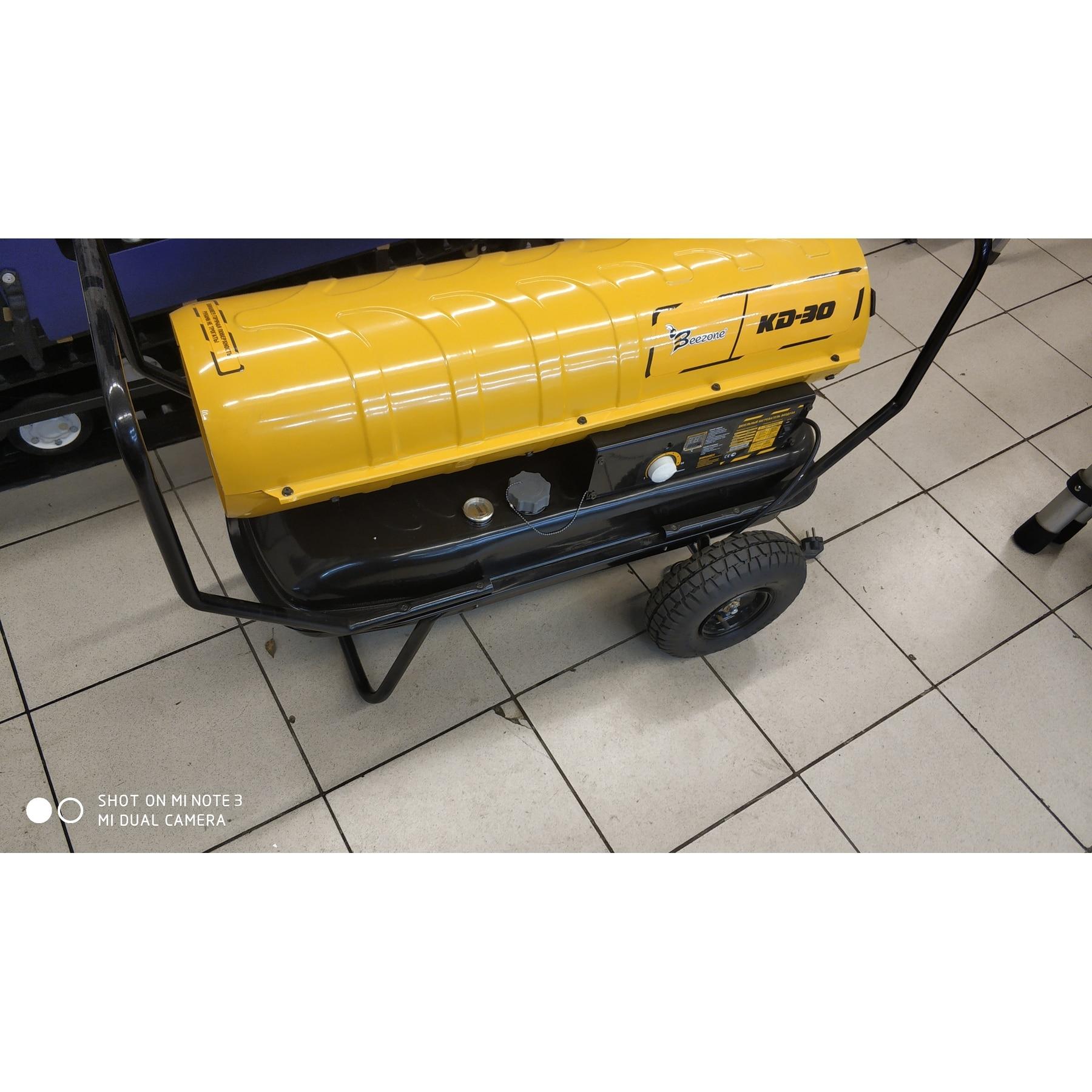 Тепловая пушка дизель/керосин beezone kd 30 проиp Корея(топловая мощность 36 кВт) Heat gun diesel / kerosene beezone kd 30 prod