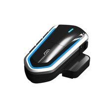 New Bluetooth 4.1 Earphone for Motorcycle Helmet Handsfree Headset Headphone with MIC and Trumpets Interphone  стоимость