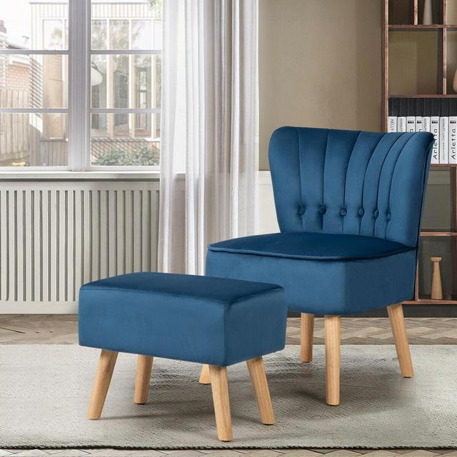 Leisure Chair and Ottoman  4