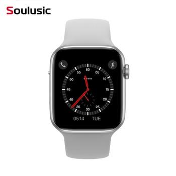 Soulusic  IWO 8 Lite W34  Bluetooth Call Smart Watch ECG Heart Rate Monitor Smartwatch Men Women for Android IOS PK IWO 10 12 top w34 bluetooth call smart watch ecg heart rate monitor iwo 8 lite smartwatch for android iphone xiaomi band pk iwo 8 4 iwo 10