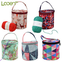 Looen Small Yarn Storage Bag Empty For Knitting Yarns DIY Needle Arts Craft Househand Sewing Tools Accessories Mom