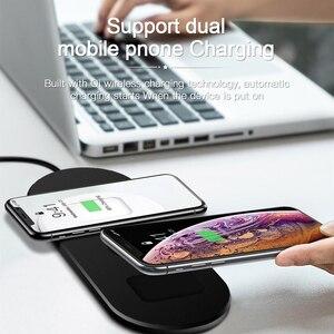Image 4 - Amzish 20W rápido QI 3 en 1 cargador inalámbrico para iPhone 8 X XR XS 11 Max base de carga inalámbrica para el reloj de Apple 4 3 2 Airpods