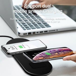 Image 4 - amzish 20W Fast QI 3 In 1 Wireless Charger For iPhone 8 Plus X XR XS 11 Max Wireless Charging Dock For Apple Watch 4 3 2 Airpods
