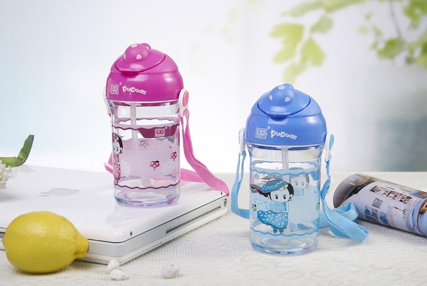 CHILDREN'S Shoulder Strap Ladybug Cup Children Straw Cup Zan Nuo Creative CHILDREN'S Cups