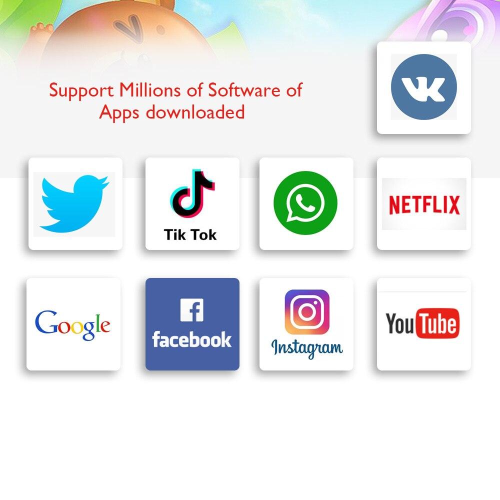 Купить с кэшбэком ANRY Kids/Children tablet 10 inch Dual Sim Card 4G Phone Call Quad Core Android 8.1 2GB RAM 32GB Tablet ROM Wireless Keyboard