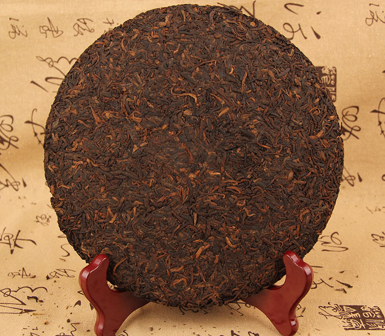 CHENGXJ 357g China Yunnan Oldest Ripe Pu'er Tea Old Class Ancient Tree Pure Material Detoxification Beauty Green Food 2