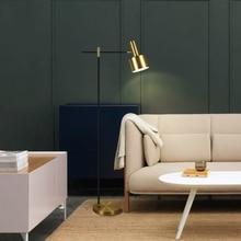 Post-modern LED floor lamp bedroom lights Nordic home deco illumination living room fixtures creative Iron vertical luminaires