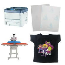 A4/A3 Size A+B Dark Laser No Cut Heat Transfer Paper Self Weeding Thermal Paper Transfer For T-shirt