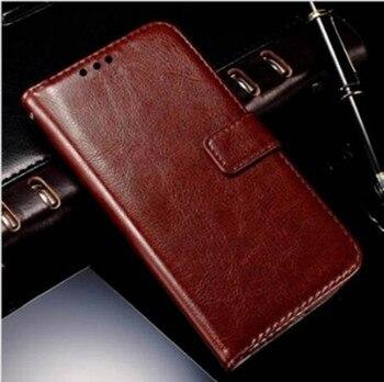 Para Moto E 4 E4 XT1762 XT1763 funda lujosa de cuero Pu funda tipo billetera con tapa Motorola Moto E4 XT 1762 1763 caso Coque