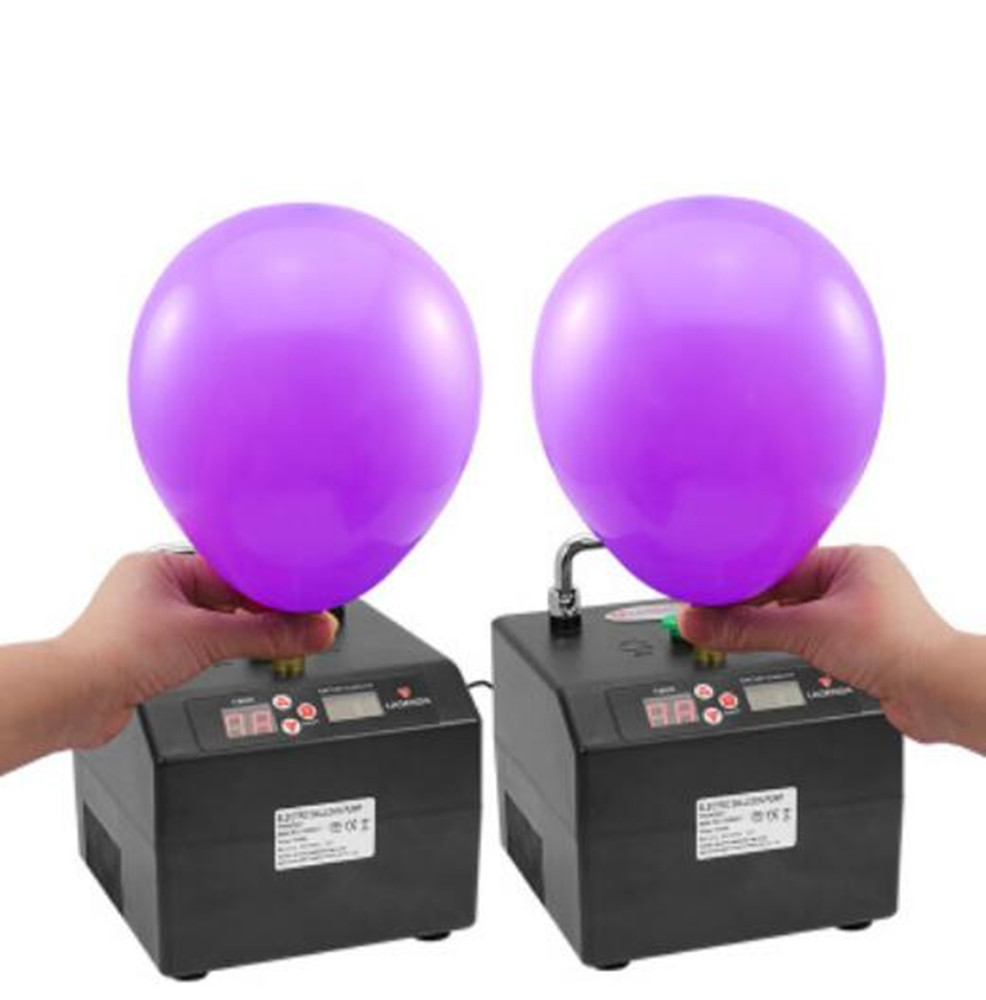 NEW B231 Lagenda Twisting Modeling Balloon Inflator With Battery Digital Time And Counter Electirc Balloon Pump