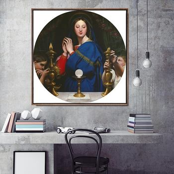 Home Decoration Print Canvas Art Wall Pictures Poster Canvas Printings Square Paintings French Jean-Auguste-Dominique ingres image