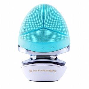 Инструмент для очистки микротока из силикона, инструмент для очистки кожи Photon, омоложение кожи, очиститель пор