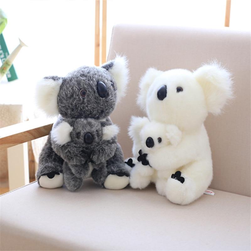 Koala With Baby Plush Kawaii Koala Animal Birthday Gifts