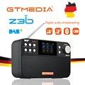 GTmedia Z3B DAB портативное радио FM радио Bluetooth динамик USB Перезаряжаемый Аккумулятор с двойным динамиком s TFT-LCD экран
