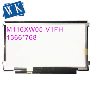"""Free shipping Brand new M116XW05-V1FH M116XW05 Laptop lcd screen 11.6"""" led panel 1366*768"""