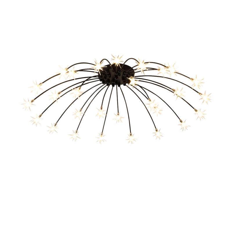 Кабинет Коридор гостиная мастер спальня потолок дизайнерский светильник контрактный современный нордический стиль освещение led sta