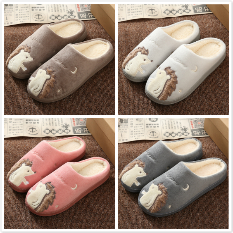 Cute Lovers Soft Indoor Home Slippers