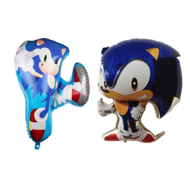 SEGA Sonic The Hedgehog Super-héros double face Foil Balloon 68CM*48CM